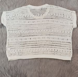 Jennifer Lopez Knit Crop Top